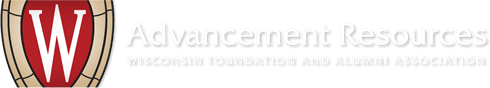 Advancement Resources - Wisconsin Foundation and Alumni Association